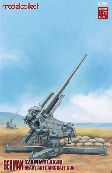 Picture of German  128mm Flak40 heavy Anti-Aircraft Gun